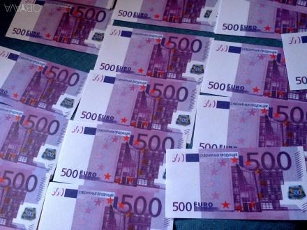50 000 евро, сувенирные деньги. Киев. фото 1