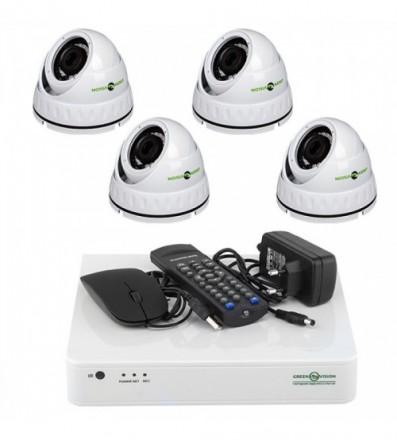 Комплект Видеонаблюдения Green Vision GV-K-L06/04 720P. Ивано-Франковск. фото 1