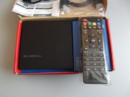 Смарт ТВ приставка Mini M8S PRO S912 2G /16G Wi-Fi-Dual 2.4Ghz/5Ghz. Киев. фото 1