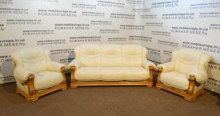 Продам Б/У кожаную мебель с Германии. Ананьев. фото 1
