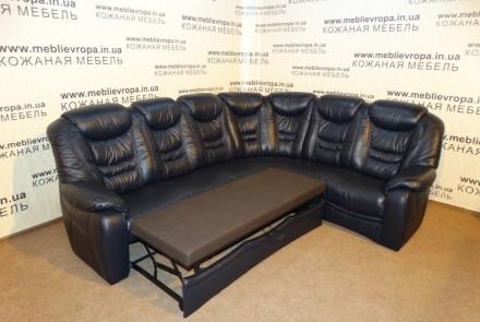 Продам Б/У кожаную мебель с Германии. Казанка. фото 1