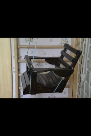 Качели из дерева, изделия из дерева, деревянные качели, детская мебель. Запорожье. фото 1