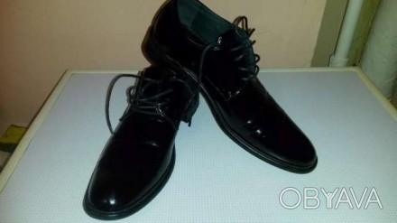 продам классные кожанные лаковые туфли..состояние новых.обувались 1 раз. очень н. Одеса, Одеська область. фото 1