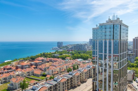 Апартаменты в Аркадии с панорамой моря. Одесса. фото 1