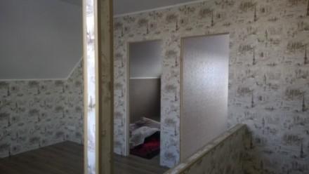Участок 5 сот, новый дом с газоблока, два этожа мансарда,100 кв,первый этаж тепл. Кременчуг, Полтавская область. фото 5
