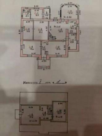 Кирпичный Дом состоит из двух квартир. Одна квартира не достоина 40.3 кв. она Пл. Житомир, Житомирська область. фото 5