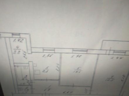 Житомир , район Корбутовка. Просторная двухкомнатная квартира на пятом этаже. До. Житомир, Житомирська область. фото 3