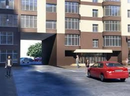 1но комнатная квартира на 8 этаже. в доме из красного кирпича. Индивидуальное га. Житомир, Житомирская область. фото 2