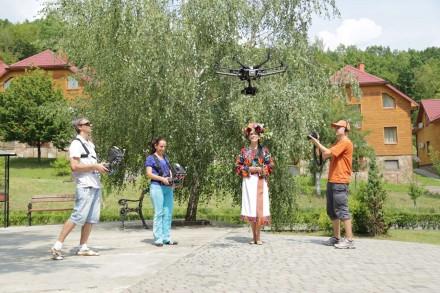 Проф комплект DJI для аэровидеофотосъемки, коптер, дрон, беспилотник. Мукачево. фото 1