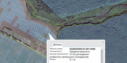 Ви хочете побудувати свій будинок в тихому затишному місці над річкою поруч з лі. Стрижавка, Вінницька область. фото 3