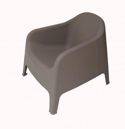 Кресло из пластика, для улицы, пляжа, бассейна, дачи. Кресло два цвета белое и к. Одесса, Одесская область. фото 6