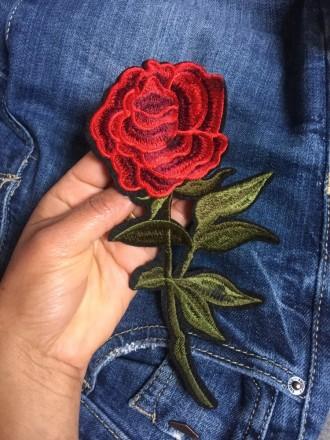 Патч нашивка роза. Полтава. фото 1