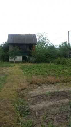 Продам дачу, 6-ть соток, вода, столбы с электричеством. Дом с подвалом на первом. ЗАЗ, Чернигов, Черниговская область. фото 3