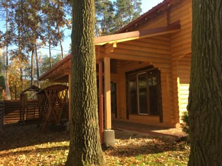 Продается деревянный дом со сруба в центральной части г. Буча, построенный из эк. Буча, Киевская область. фото 4