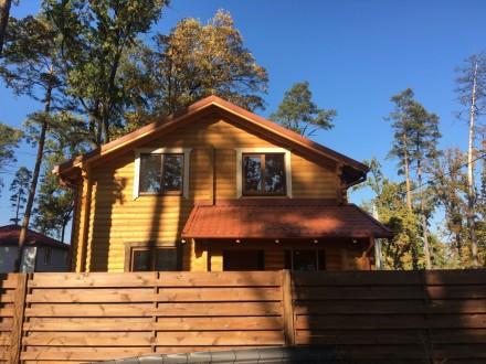 Продается деревянный дом со сруба в центральной части г. Буча, построенный из эк. Буча, Киевская область. фото 9