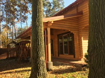 Продается деревянный дом со сруба в центральной части г. Буча, построенный из эк. Буча, Киевская область. фото 5