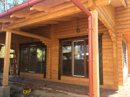 Продается деревянный дом со сруба в центральной части г. Буча, построенный из эк. Буча, Киевская область. фото 7