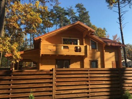 Продается деревянный дом со сруба в центральной части г. Буча, построенный из эк. Буча, Киевская область. фото 10