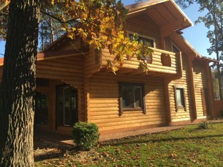 Продается деревянный дом со сруба в центральной части г. Буча, построенный из эк. Буча, Киевская область. фото 2