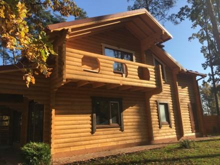 Продается деревянный дом со сруба в центральной части г. Буча, построенный из эк. Буча, Киевская область. фото 3