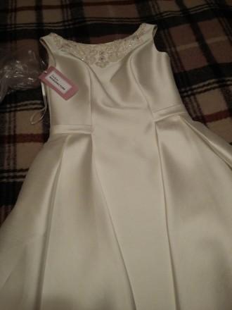 Нарядное-(свадебное) платье. Киев. фото 1