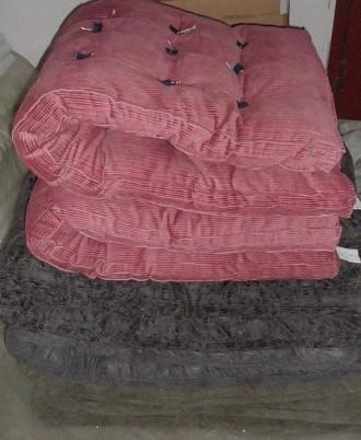 Матрас ватный, матрас на синтепоне, домашний текстиль, расцветки в ассортименте. Чернигов. фото 1