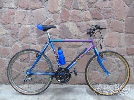 """Подростковый велосипед в хорошем состоянии колеса на 26"""" ( Германия ). Без насос. Херсон, Херсонская область. фото 1"""