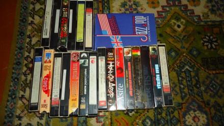 Видеокассеты VHS (штука). Полтава. фото 1