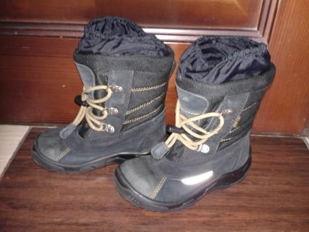 Зимние ботинки ecco. Мариуполь. фото 1