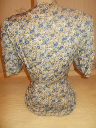 Продам нежную батистовую блузочку р. М, б/у в идеальном состоянии. Состав ткани . Чернигов, Черниговская область. фото 5