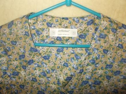 Продам нежную батистовую блузочку р. М, б/у в идеальном состоянии. Состав ткани . Чернигов, Черниговская область. фото 6