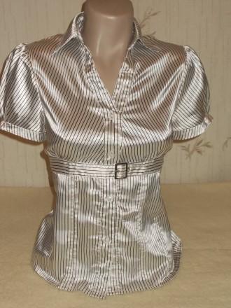 Атласная блуза р.М. Чернигов. фото 1