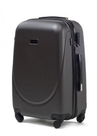 Комплект польских дорожных пластиковый чемоданов Wings (Вингс) произведен из над. Киев, Киевская область. фото 9