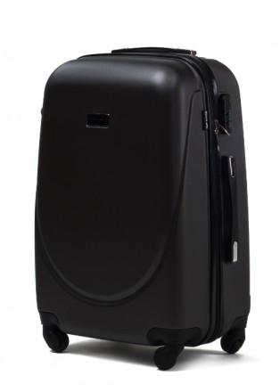Комплект польских дорожных пластиковый чемоданов Wings (Вингс) произведен из над. Киев, Киевская область. фото 6