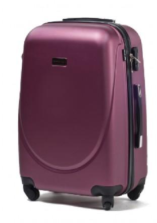 Комплект польских дорожных пластиковый чемоданов Wings (Вингс) произведен из над. Киев, Киевская область. фото 11