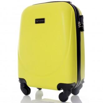 Комплект польских дорожных пластиковый чемоданов Wings (Вингс) произведен из над. Киев, Киевская область. фото 3