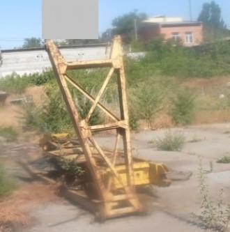 Продаем жесткий гусек 5 метров гусеничного крана МКГ-25БР. Киев. фото 1