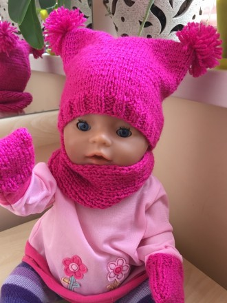 Одежда для куклы беби борн. Киев. фото 1