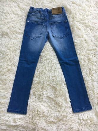 Продам джинсы без этикеток, но ни разу не одеты на 5-6 лет Некст. Боровая. фото 1