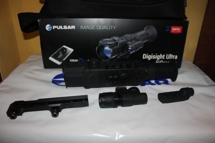 Прицел Pulsar Ultra N355 цена 1100$  Технические характеристики Наилучшая ночн. Тернополь, Тернопольская область. фото 2