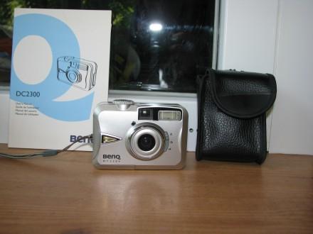 Цифровой фотоаппарат BENQ DC 2300. Чернігів. фото 1
