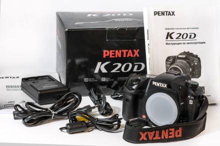 Зеркальный фотоаппарат Pentax K20D Body. Орджоникидзе. фото 1