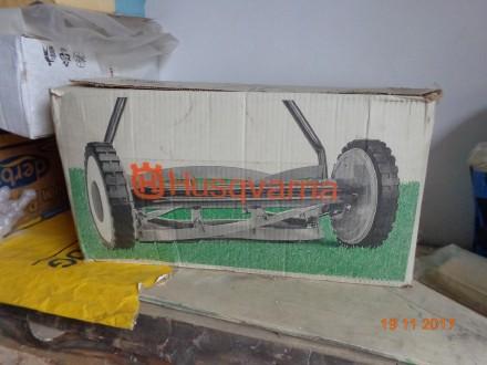 Продам новую шведскую механическую газонокосилку. Обухів. фото 1