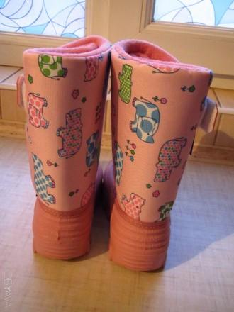 Продам новые   Сноубутсы TUNDRA оригинал (Канада). Цвет: розовый. Нарисованы бе. Херсон, Херсонская область. фото 8