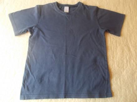темно-синяя футболка на 9-10 лет. Чернігів. фото 1
