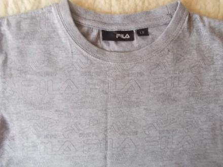 Продам серую футболку Фила на мальчика 9-10 лет в хорошем состоянии. Хлопок. Ори. Чернигов, Черниговская область. фото 3