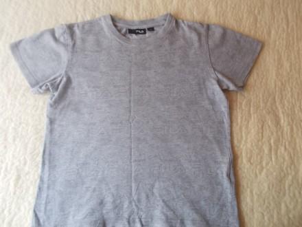 Продам серую футболку Фила на мальчика 9-10 лет в хорошем состоянии. Хлопок. Ори. Чернигов, Черниговская область. фото 2