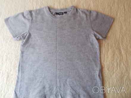 Продам серую футболку Фила на мальчика 9-10 лет в хорошем состоянии. Хлопок. Ори. Чернигов, Черниговская область. фото 1