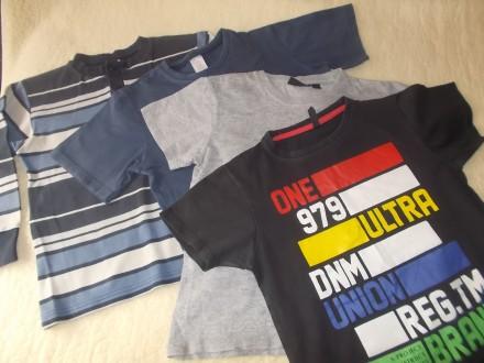 4 футболки на 9-10 лет. Чернігів. фото 1