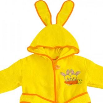 Махровый халат детский , отличное качество всегда согреет Вашего малыша  Изгото. Киев, Киевская область. фото 3